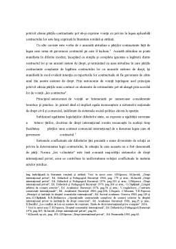 Curs - Contractul în Dreptul Internațional Privat