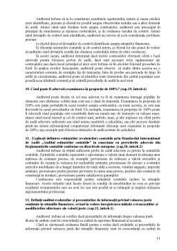 Referat - Concluzii de Audit și Raportarea