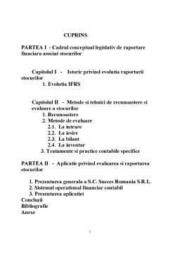 Proiect - Contabilitatea si Gestiunea Imobilizarilor si a Stocurilor. Evaluare, Recunoastere si Tratamente Contabile