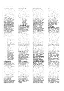 Notiță - Taxonomie Vegetala