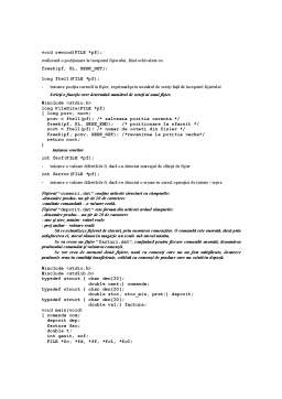 Curs - Fisiere in C si C++