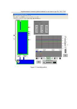 Proiect - Sisteme Hibride de Reglare a Nivelului. Conducere în Timp Real cu PLC Allen Bradley SLC 5-05