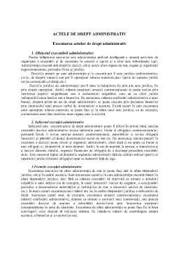 Curs - Acte de Drept Administrativ