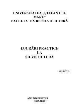 Referat - Stabilirea Functiilor Ecologice, Economice si Sociale din Unitatea de Productie I, Ocolul Silvic Iacobeni