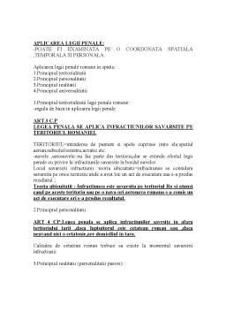 Curs - Drept Penal General