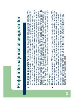 Curs - Particularitățile Evaluării în Comerțul Exterior
