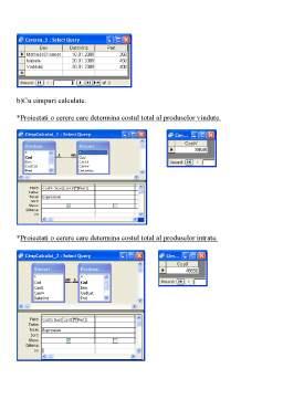 Proiect - Crearea si Modificarea unei Baze de Date - Vinarie