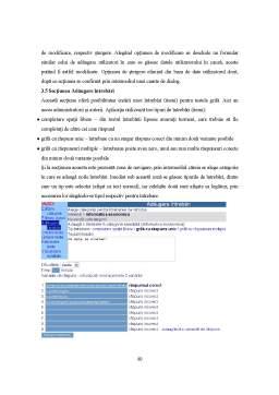 Proiect - Sistem Informatic pentru E-Learning