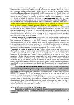 Curs - Conceptul și Clasificarea Tranzacțiilor Bursiere