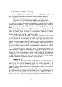 Proiect - Contractul de Leasing