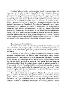 Curs - Administrarea Societatii Comerciale pe Actiuni - Sistemul Unitar