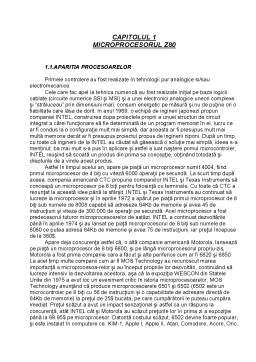 Referat - Microprocesorul Z80