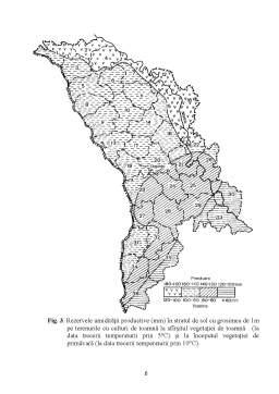 Curs - Resursele Agroclimatice ale Republicii Moldova și Regionarea Lor