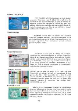 Proiect - Monografie Bancara BRD Iasi 2009