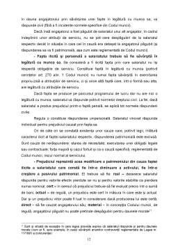 Curs - Dreptul Muncii - Contractul Individual de Munca - Capitolul 7