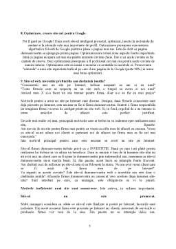 Proiect - Realizarea unui Site Web