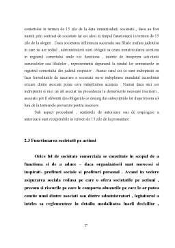 Proiect - Regimul Juridic al Obligatiunilor Comerciale