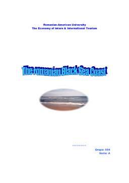 Referat - The Romanian Black Sea Coast