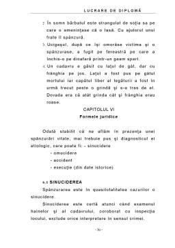 Proiect - Asfixia Mecanica - Modificari Anatomo-Patologice