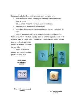 Referat - Instalatii Electrice de Iluminat si Prize