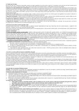 Notiță - Fituici pentru Examen la Dreptul Administrativ