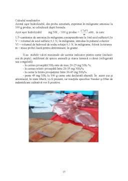 Proiect - Falsificarea Carnii si a Produselor din Carne