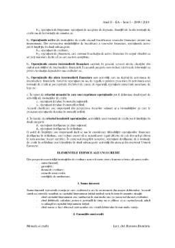 Curs - Tipologia Operatiunilor Institutiilor de Credit