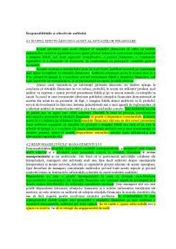 Curs - Nevoia de Audit și Servicii de Asigurare
