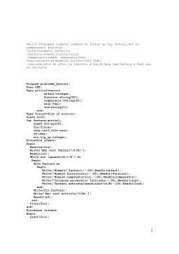 Laborator - Structuri de Date - Exemple Rezolvate