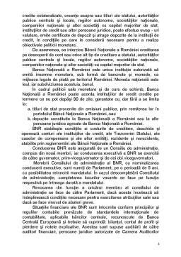Referat - Banca Națională a României