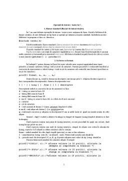 Curs - Operatii de Intrare si Iesire in C si C++