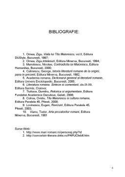 Referat - Titu Maiorescu și Discursul Politic