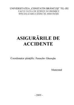 Referat - Asigurările de Accidente