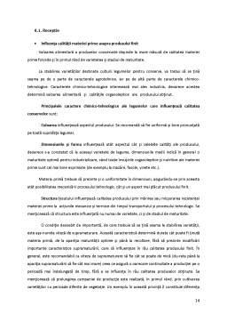 Proiect - Sisteme de Asigurare a Calitatii - Conservele de Mazare