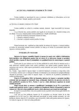 Curs - Norma Juridică