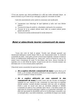 Referat - Definitia si Conceptul de Comunicare de Masa Teorii ale Mass-Media