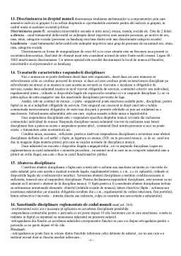 Curs - Subiecte Dreptul Muncii