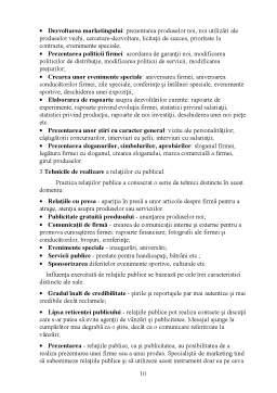 Referat - Tehnici Promotionale la SC Crescento Print SRL