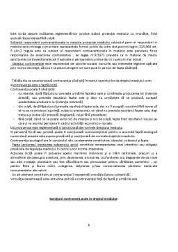 Referat - Răspunderea Contravenționala în Dreptul Mediului