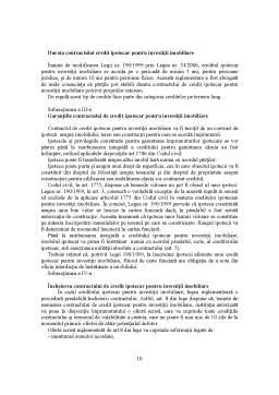 Curs - Contractul de Credit Bancar