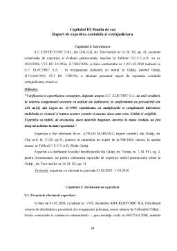 Referat - Actele de Expertiza Contabila - Continut si Valorificare