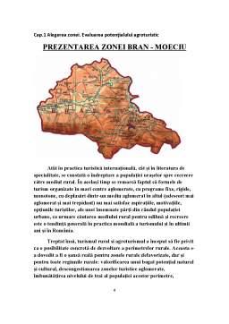 Referat - Economie Agroturistica - Comuna Agroturistica Moeciu