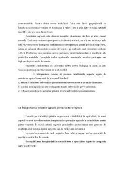 Curs - Practici Contabili Contabile Specifice în Agricultura