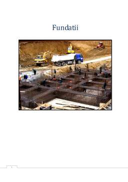 Proiect - Fundatii
