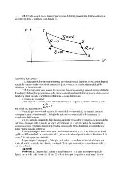Curs - Notiuni Termodinamice de Baza - Legile Gazului Ideal - Principiile Termodinamicii