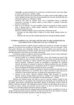 Curs - Aspecte Teoretice și Metodologice privind Activitatea de Expertiză Contabilă