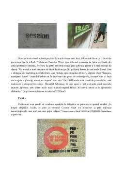 Proiect - Strategii Creative în Publicitate - Stencilmania