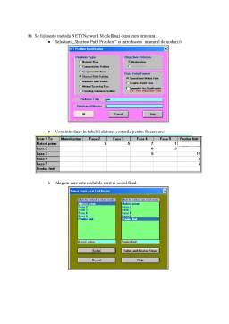 Proiect - Proiect Excel-WINQSB-SAS - Pachete Software