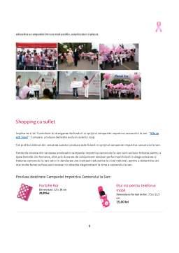 Proiect - Campania Sociala Impotriva Cancerului la San - Avon