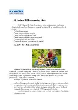 Proiect - BCR Asigurari de Viata